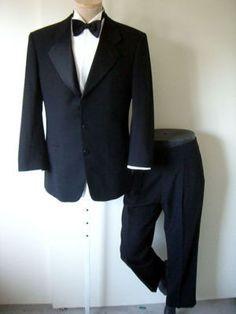 Giorgio Armani Tuxedo Classic Le COLLEZIONI 40 33 Italy Red Carpet AX Shirt Pant | eBay