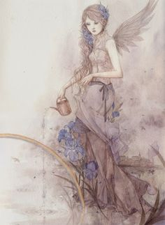 Sweet Garden Fairy by Fairyflutters