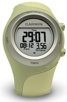 Garmin Watch! Tracks your distance & pace + you can upload it all on your laptop to keep track!