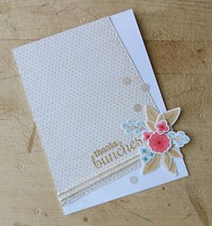 From a great blog Occasional Crafting wplus9 fresh cut florals