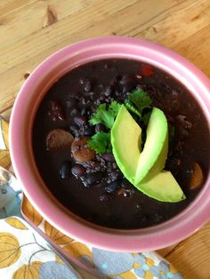 crock pot black bean and quinoa soup
