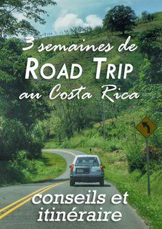 Sur le blog on vous partage notre itinéraire détaillé de 3 semaines de road trip au Costa Rica et tous nos conseils pour louer votre voiture et conduire sans soucis !