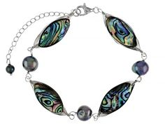 Abalone Jewelry, Broken Chain, Abalone Shell, Sterling Silver Bracelets, Shells, Pearl, Pendant Necklace, Jewels, Gemstones