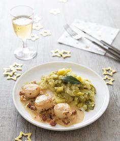 Saint-Jacques rôties au chorizo, la recette d'Ôdélices : retrouvez les ingrédients, la préparation, des recettes similaires et des photos qui donnent envie !