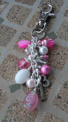 Purse FOB jewelry pink mini dangle - #Thirty #One Design