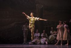 Giselle. Ballet de Santiago. Simón Hidalgo. Foto: Patricio Melo.
