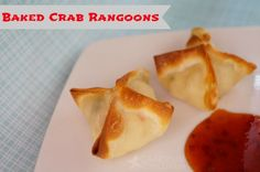 Recipe for Baked Crab Rangoons. Perfect for #NewYearsEve