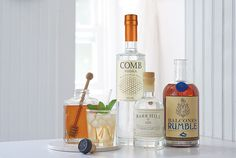 """Bartenders love adding a secret ingredient (honey simple syrup) into a #cocktail recipe  but these spirits can become a """"sweet"""" choice for any craft cocktail."""