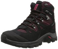 factory authentic 4bab9 c3498 Top 30 Best Women s Hiking Boots In 2018 - Adventure Hike Travel. Salomon  Women s Discovery GTX Backpacking Shoe Durable leather and gore-tex®  provide ...