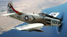 AD-1 Skyraider: A Piston-Powered Anachronism In The Jet Age But Had A Lo...