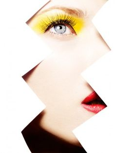 Model uncredited, photographer Rankin, MUA Michelle Campbell