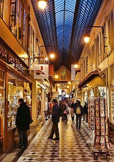 Passage Jouffroy, Paris - ASPEN CREEK TRAVEL - karen@aspencreektravel.com