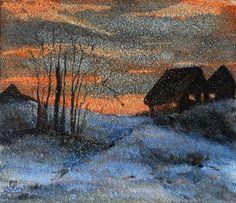 "Branka Božić,  ""Before nightfall..."" on ArtStack #branka-bozic #art"