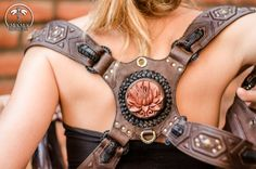 Exotic Leather HOLSTERS  D.N.A/Sacred G. 3D by MamaMedicina