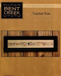 Schema punto croce Teacher Row 01