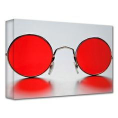 Dan Holm 'Rose Colored Glasses' Gallery-Wrapped Canvas I HAVE THOSE SOMEWHERE!!