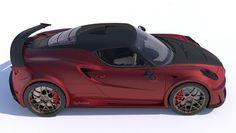 It's the twin-turbo V8 Alfa 4C! - BBC Top Gear