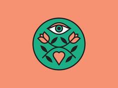 Three Little Words eye logo branding leaves heart flowers eye Logo Branding, Corporate Branding, Eye Logo, Eye Painting, Flower Logo, Heart Logo, Word Design, Game Design, Eye Art