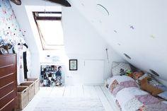 Cozy crawl space. FAMILY FRIENDLY STYLE