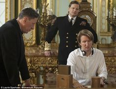 "Colin Firth on set of ""The Kings's Speech"" King's Speech, Bridget Jones, Charming Man, Colin Firth, George Vi, Scene Photo, Period Dramas, On Set, Movies And Tv Shows"