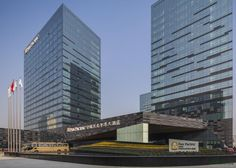SPARK designed the 'Ningbo A1 Housing–Pan Pacific Hotel' in Ningbo, China. http://en.51arch.com/2013/11/a2004-ningbo-a1-housing-pan-pacific-hotel/