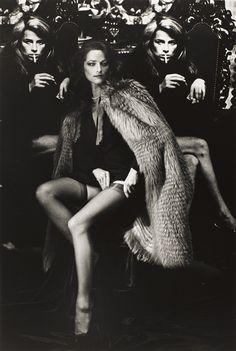 Charlotte Rampling, Paris, 1982 © Helmut Newton