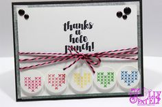 Stampin' Up! Love you Sew