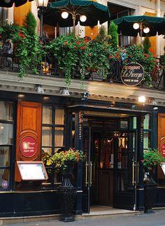 Restaurant Le Procope, 13 Rue de l'Ancienne Comédie, Paris 6e.