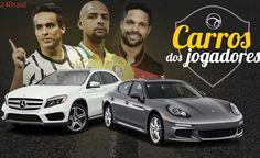 Fama, dinheiro e quatro rodas: Veja quais são os carros de Jadson, Felipe Melo e outros jogadores