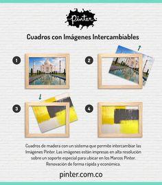 https://www.pinter.com.co/ Galería y tienda virtual de cuadros con imágenes intercambiables.