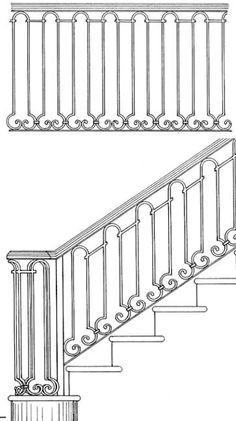 Stair Railing Designs ISR030