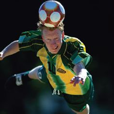 Soccer Players Show Signs of Brain Damage | Football has become notorious for the degeneration it causes in players' brains. Now a preliminary study of soccer players has found that frequently hitting the ball with the head may adversely affect brain structure and cognition.