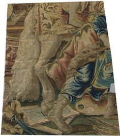 16th century tapestry fragment