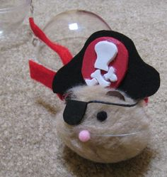 Pom-Pom Craft Hamster - SWAP idea