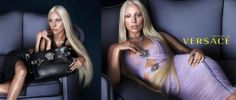 Versace's spring/summer campaign featuring Lady Gaga - first image
