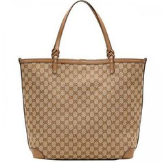b3f1dca063d6 Gucci Craft Large Tote Beige-Light Brown 247220 Sale Gucci Tote Bag, Gucci  Purses