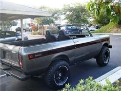 Always wanted a International Scout II