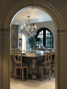 Kitchen Tuscan Bedroom Design, Pictures, Remodel, Decor and Ideas - page 10 Tuscan Design, Tuscan Style, Macarons, Style Toscan, Tuscan Bedroom, Old World Kitchens, Tuscan Kitchens, Dream Kitchens, Tuscan House