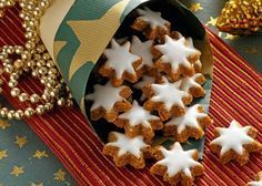7 Delicious Food Recipes for Christmas Christmas Goodies, Christmas Desserts, Christmas Baking, Christmas Stars, Christmas Cakes, Homemade Christmas, Merry Christmas, No Bake Desserts, Dessert Recipes