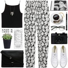 Where would you go in this #OOTD by yexyka? http://polyv.re/OOTD616