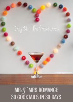 30 Cocktails in 30 Days – Day 26: the Manhattan