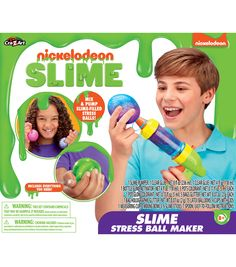 Get creative with this Nickelodeon Stress Ball Maker Kit! Make awesome glittery slime and then fill your stress ball maker unit. Pull the handle and watch your slime ooze into clear balloons for fun super squishy slime stress balls! Party Stores, Party Shop, Glittery Slime, Clear Balloons, Clear Glue, Fun Arts And Crafts, Kids Party Supplies, Stress Ball, Halloween Costumes For Kids