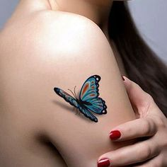 Butterfly Tattoos Designs for Women (14).... See even more by clicking the image