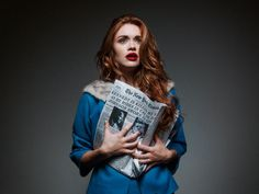 Womens Shock at the Death of a President, Tyler Shields, Historical Fiction, Holland Roden