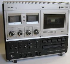 Philips; Eindhoven HiFi Cassette Deck N2521 /00 from RM Member 9183 (1)