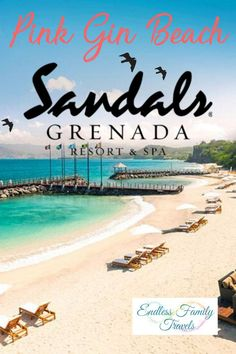 Located on Pink Gin Beach, Sandals Grenada all inclusive resort is heaven on Earth. This luxury and adults only resort is paradise for couples and friends. Winter Family Vacations, Best Family Vacation Spots, Family Travel, Vacation Places, Europe Destinations, Grenada Resorts, Grenada Caribbean, Sandals Grenada, All Inclusive Family Resorts