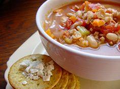 Crock Pot Chicken And Bean Soup Recipe - Genius Kitchensparklesparkle