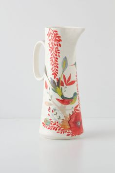 Evenings In Quito Pitcher - anthropologie.com | $48.00