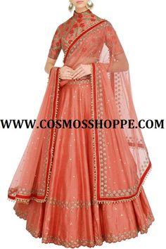 shop this Lehenga at www.cosmosshoppe.com