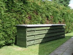 Kayak Storage Shed | He says the whole thing cost a shade over £200 to build, which is a ...